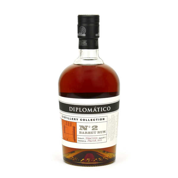 Diplomatico Distillery Collection Barbet Column - Rhum du Venezuela 47%
