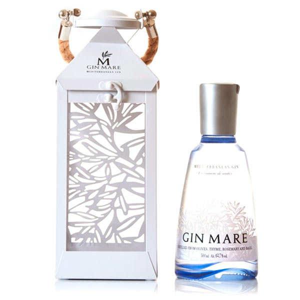 Gin Mare Lantern Gift Tin Box