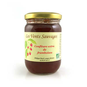 Les vents sauvages - Organic raspberry jam - South of France