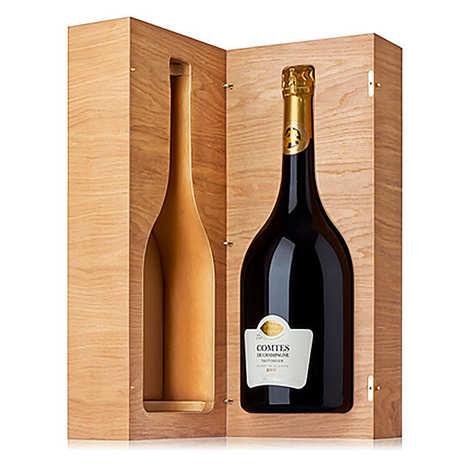 Champagne Taittinger - Comtes de Champagne Taittinger 2006 Mathusalem 6L en coffret bois luxe