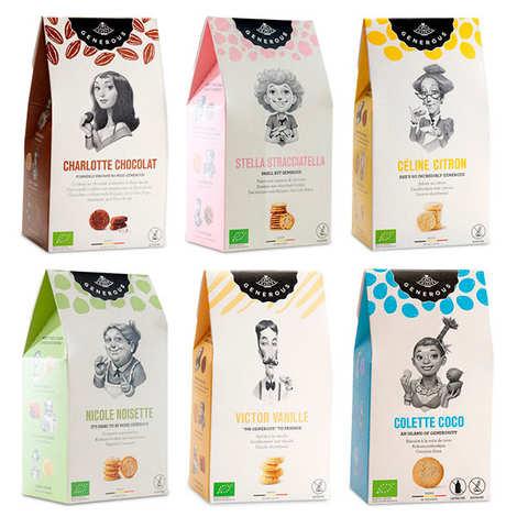 Generous - Lot découverte des biscuits bio Generous
