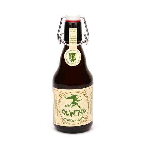 Brasserie des Légendes - Quintine bière belge blonde 8%