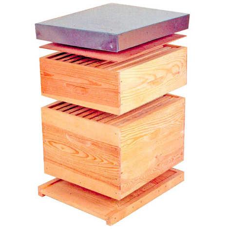 Ateliers du Prieuré - Spruce Dadant Hive 10 frames in kit