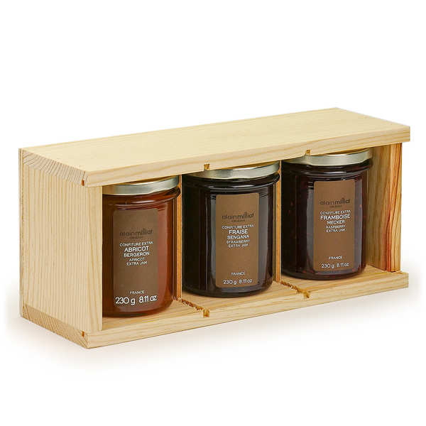 3 jams from France Gift Set