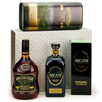 BienManger paniers garnis - Rum discovery gift box (2 bottles)
