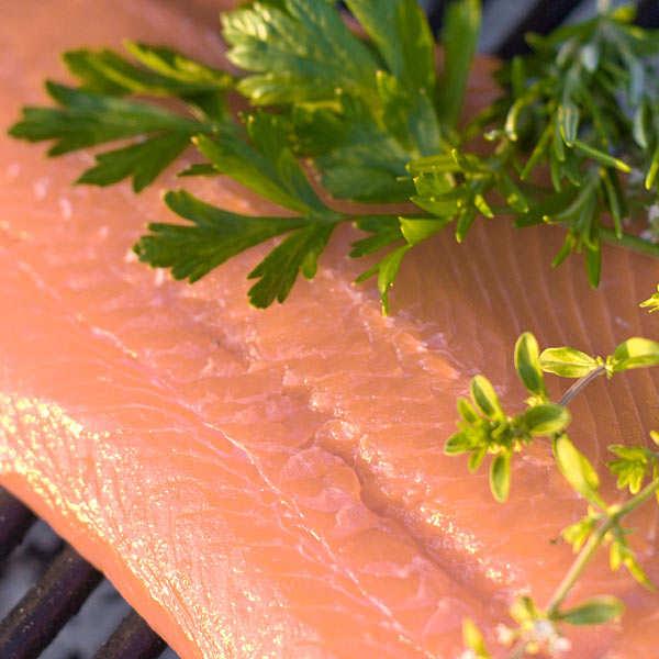 """Saumon sauvage de la Baltique fumé """"Grand Prestige"""" Olsen"""