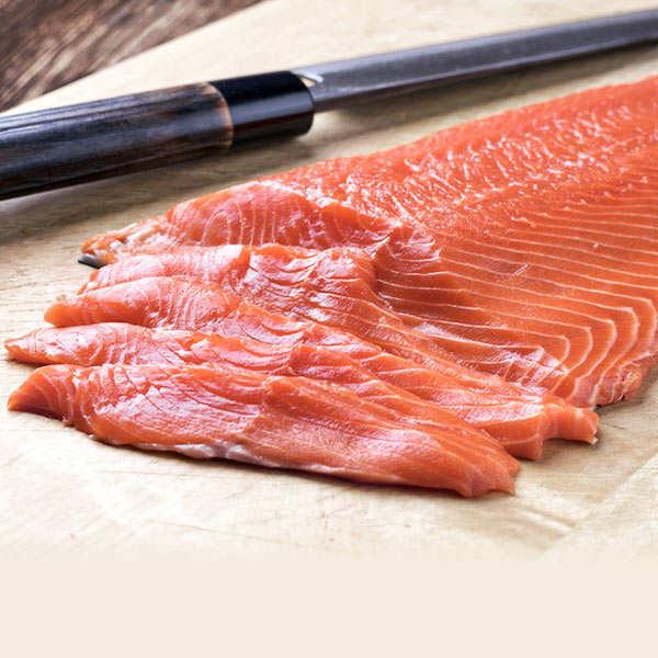 Filet de saumon fumé bio Olsen
