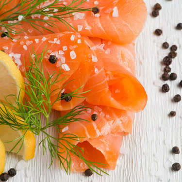 Marinated Organic Salmon with Dill