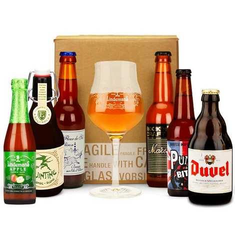 - Box découverte de 6 bières de décembre