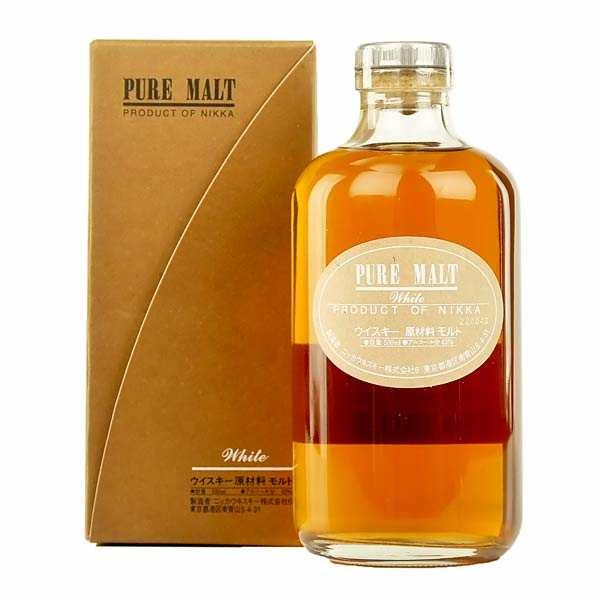 Nikka Whisky pure malt white - 43%