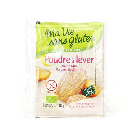 Ma vie sans gluten - Poudre à lever bio - sans gluten et sans amidon de maïs