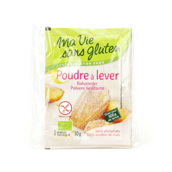 Organic Baking powder - gluten and corn starch free