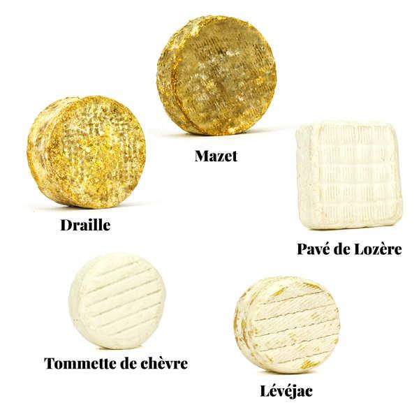 Assortiment de fromages - Le Lozère