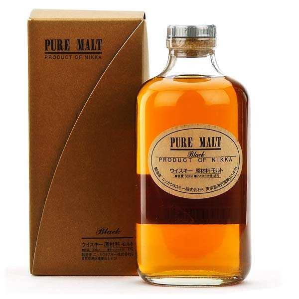 Nikka pure black malt - Japanese Whisky - 43%