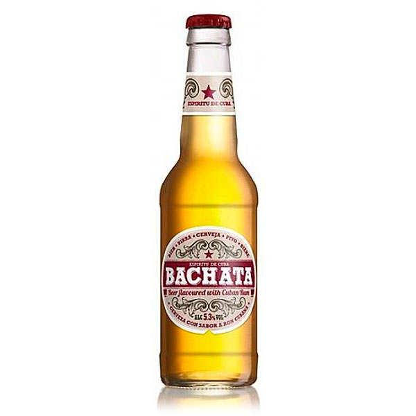 Bachata bière blonde aromatisée au rhum cubain 5.3%