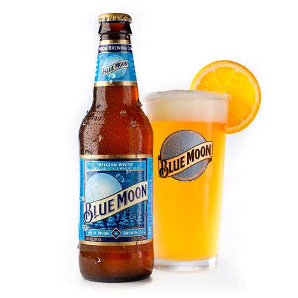 Blue Moon bière blanche américaine 5.4%