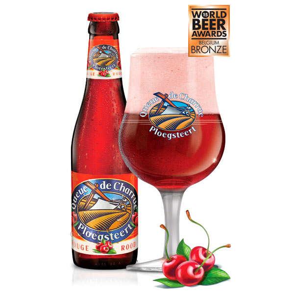 Queue de Charrue Rouge - Bière belge à la cerise 8.7%