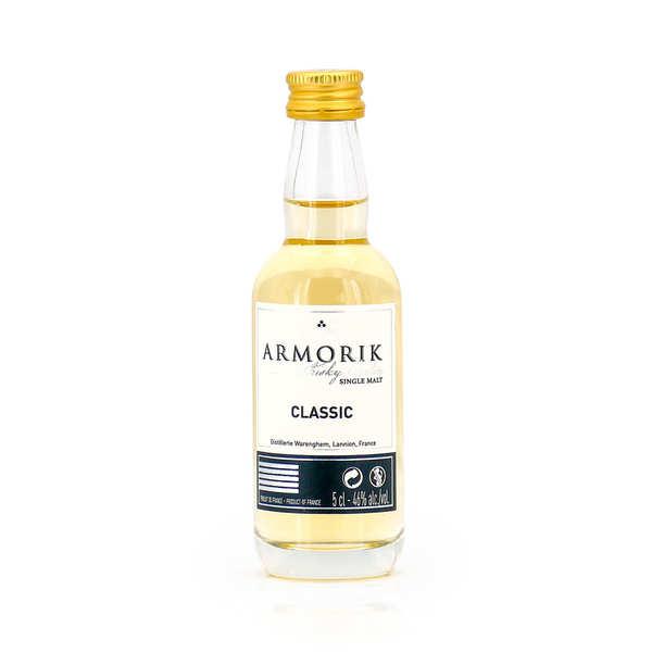 Mignonnette de whisky breton armorik classic 46% - mignonnette 5cl