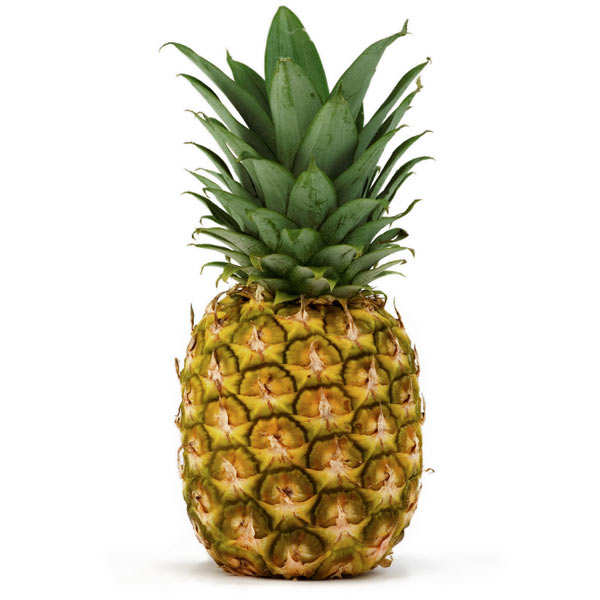 Organic Pineapple from Côte d'Ivoire