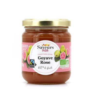 Organic and Fairtrade guava jam