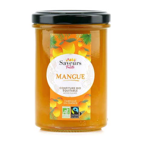 Saveurs Attitudes - Confiture extra de mangue bio et équitable