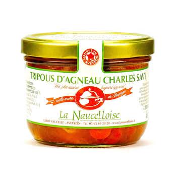 La Naucelloise - Tripous d'agneau recette Charles Savy