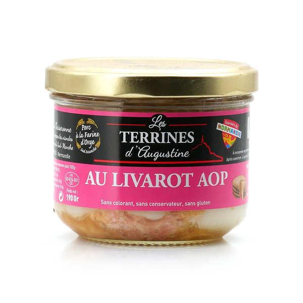 """Terrine with """"Livarot"""" cheese"""