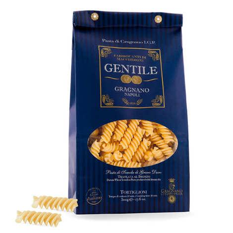 Gentile Pasta - Pâtes Tortiglioni - IGP Gragnano