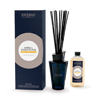 Esteban - Bouquet parfumé - Ambre et vanille étoilée