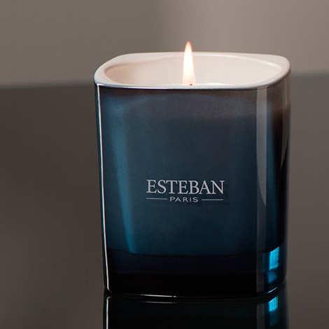 Esteban - Bougie parfumée - Yuzu & sels roses