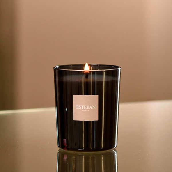 Bougie parfumée rechargeable - Esprit de thé