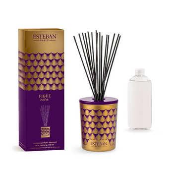 Esteban - Bouquet parfumé décoratif - Figue noire
