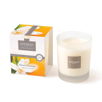 Esteban - Bougie parfumée - Fleur d'oranger