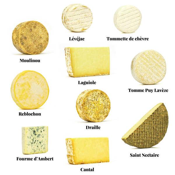 Assortiment de fromages - Le familial