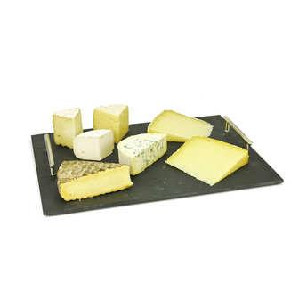 - Assortiment de fromages - Le Massif Central