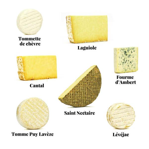 Assortiment de fromages - Le Massif Central