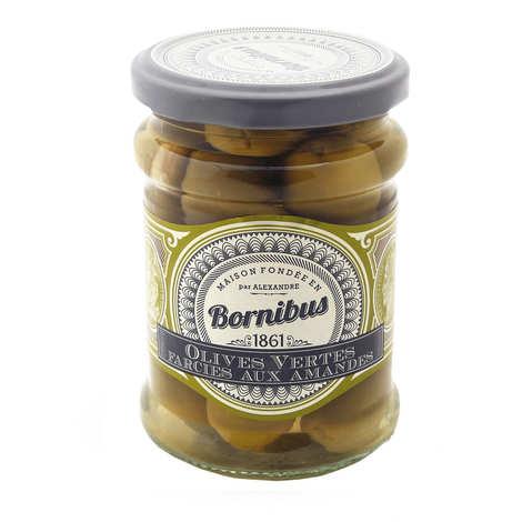 Bornibus - Olives vertes farcies aux amandes