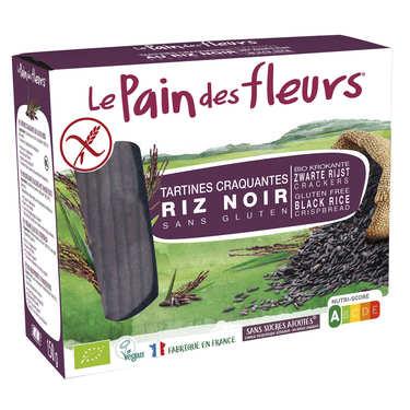 Le Pain des Fleurs au riz noir bio – sans gluten
