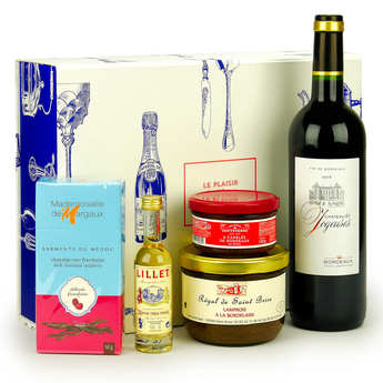 BienManger paniers garnis - Bordeaux Gourmet Gift Box