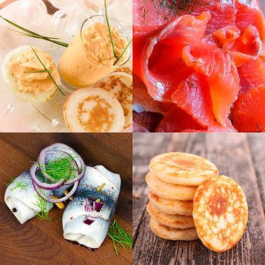 Premium Assortment of Fresh Sea Products Olsen