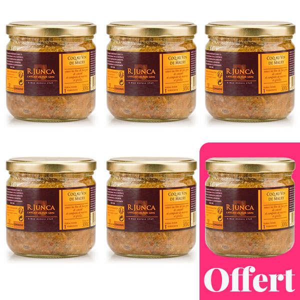 Coq au Vin de Maury with Foie Gras Sauce - 5+1 for free