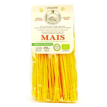 Morelli - Antico pastificio toscano - Pâtes Linguine au maïs sans gluten bio