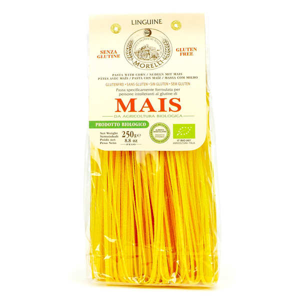 Organic Linguine Corn Pasta - gluten free