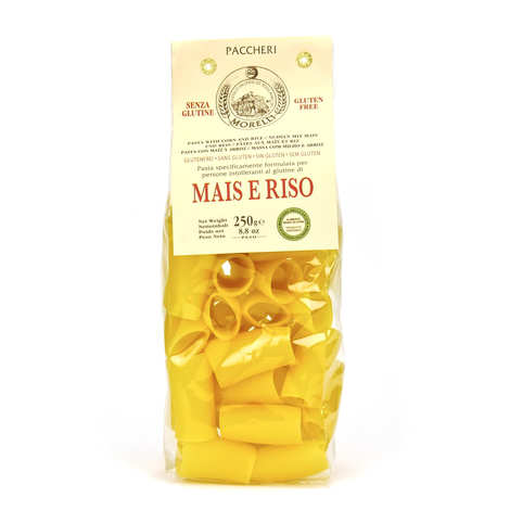 Morelli - Antico pastificio toscano - Paccheri Rice and Corn Pasta - gluten free
