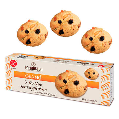 Panarello - Biscuits italiens raisin pignon sans gluten