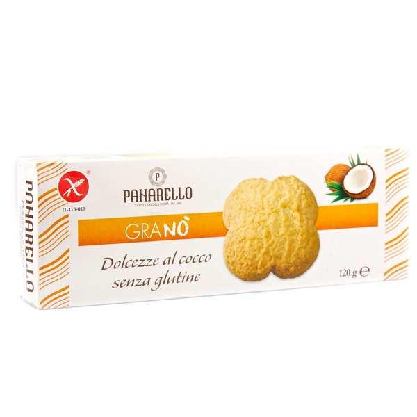 Dolcezze al cocco - biscuit à la noix de coco sans gluten