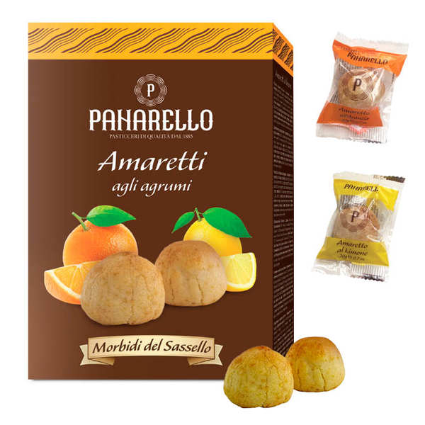 Amaretti traditionnels aux agrumes