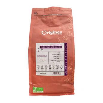 Origines Tea and Coffee - Café en grains bio - Expresso Gourmand