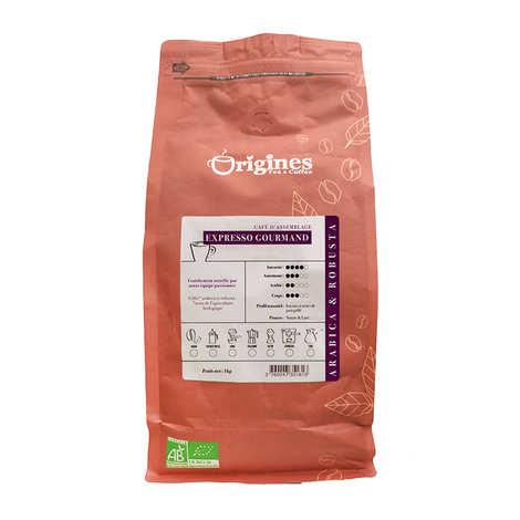 Origines Tea and Coffee - Organic Coffee - Gourmand Expresso