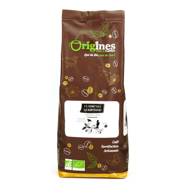 Café en grains bio - Expresso Gourmand